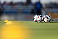 San Jose, CA - Saturday May 06, 2017: Soccer balls prior to a Major League Soccer (MLS) match between the San Jose Earthquakes and the Portland Timbers at Avaya Stadium.