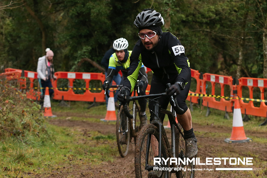 EVENT:<br /> Round 5 of the 2019 Munster CX League<br /> Drombane Cross<br /> Sunday 1st December 2019,<br /> Drombane, Co Tipperary<br /> <br /> CAPTION:<br /> Sean Driscoll (Un-Attached Munster) in action during the B Race <br /> <br /> Photo By: Michael P Ryan
