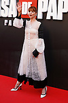 Actress Najwa Nimri attends the photocall of presentation of the third season of serie 'La Casa de Papel'. July 11, 2019. (ALTERPHOTOS/Johana Hernandez)