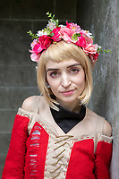 Portrait of Beautiful Girl, Pax West Seattle, WA, USA.