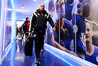Swansea City Manager Francesco Guidolin arrives before the Barclays Premier League match between Leicester City and Swansea City played at The King Power Stadium, Leicester on April 24th 2016