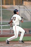 Devin Harris - AZL Giants - 2010 Arizona League. Photo by:  Bill Mitchell/Four Seam Images..