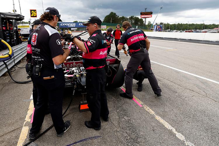 #60: Jack Harvey, Meyer Shank Racing Honda, Crew Member(s)