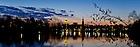 Mar. 29, 2013; Sunrise over St. Mary's Lake..Photo by Matt Cashore/University of Notre Dame
