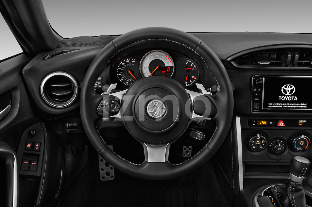 Car pictures of steering wheel view of a 2018 Toyota 86 Automatic 2 Door Coupe Steering Wheel