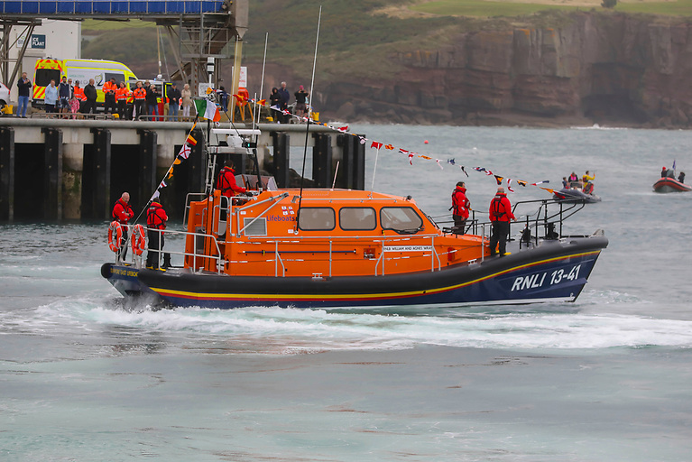Dunmore East RNLI welcomes the new €2.4 million Shannon class lifeboat
