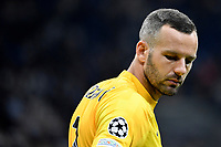 Samir Handanovic of FC Internazionale looks on during the Uefa Champions League group D football match between FC Internazionale and Real Madrid at San Siro stadium in Milano (Italy), September 15th, 2021. Photo Andrea Staccioli / Insidefoto