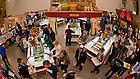 Nov. 4, 2013; South Dining Hall serving area.<br /> <br /> Photo by Matt Cashore/University of Notre Dame