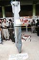 Irak 1991  Bombe chimique tombée sur la mosquée de Halabja   Iraq 1991 Chemical bomb in Halabja's mosque