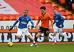 13.12.2020 Dundee Utd v Rangers: Kemar Roofe with Ian Harkes