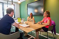 Amstelveen, Netherlands, 7 Juli, 2021, National Tennis Center, NTC, Amstelveen Womans Open, In conversation with the KNLTB<br /> Photo: Henk Koster/tennisimages.com
