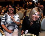 NUNZIA DE GIROLAMO<br /> PREMIO GUIDO CARLI - TERZA  EDIZIONE<br /> PALAZZO DI MONTECITORIO - SALA DELLA LUPA<br /> CON RICEVIMENTO  HOTEL MAJESTIC   ROMA 2012