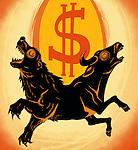 Illustration of stock market sign