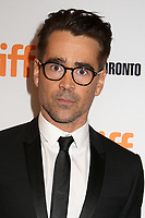 COLIN FARRELL - RED CARPET OF THE FILM 'THE KILLING OF A SACRED DEER' - 42ND TORONTO INTERNATIONAL FILM FESTIVAL 2017 . TORONTO, CANADA, 10/09/2017. # FESTIVAL DU FILM DE TORONTO - RED CARPET 'THE KILLING OF A SACRED DEER'