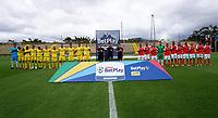 BOGOTA - COLOMBIA, 01-08-2021: Bogota F.C. y Barranquilla F. C. durante partido de la fecha 2 por el Torneo BetPlay DIMAYOR II 2021 en el estadio Metropolitano de Techo en la ciudad de Bogota. / Bogota F.C. and Barranquilla F. C. during a match of the 2nd date for the BetPlay DIMAYOR II 2021 Tournament at the Metropolitano de Techo stadium in Bogota city. / Photo: VizzorImage / Daniel Garzon / Cont.
