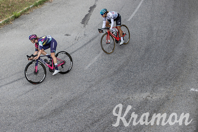Tiffany Cromwell (AUS/Canyon SRAM Racing), Sierra Arlenis (CUB/Astana Womens Team)<br /> <br /> 7th La Course by Le Tour de France 2020<br /> 1 day race from Nice to Nice 96km<br /> ©kramon