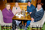 Theresa, Grace, Mike and Carmel Canavan enjoying the evening in Gallys on Saturday.