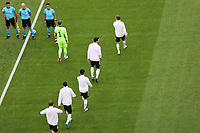 Einlauf Deutschland<br /> - Muenchen 19.06.2021: Deutschland vs. Portugal, Allianz Arena Muenchen, Euro2020, emonline, emspor, <br /> <br /> Foto: Marc Schueler/Sportpics.de<br /> Nur für journalistische Zwecke. Only for editorial use. (DFL/DFB REGULATIONS PROHIBIT ANY USE OF PHOTOGRAPHS as IMAGE SEQUENCES and/or QUASI-VIDEO)
