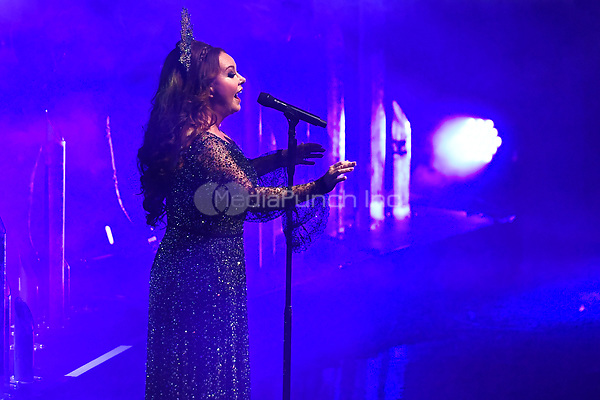 LONDON, ENGLAND - NOVEMBER 11: Sarah Brightman performing at Royal Albert Hall on November 11, 2019 in London, England.<br /> CAP/MAR<br /> ©MAR/Capital Pictures /MediaPunch ***NORTH AMERICAS ONLY***