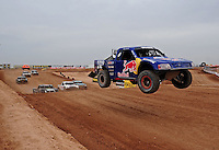 Mar. 20, 2011; Chandler, AZ, USA;  LOORRS pro four driver Ricky Johnson during round two at Firebird International Raceway. Mandatory Credit: Mark J. Rebilas-