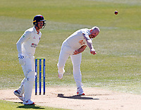 Kent's Darren Stevens bowls during Kent CCC vs Lancashire CCC, LV Insurance County Championship Group 3 Cricket at The Spitfire Ground on 22nd April 2021