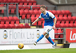 St Johnstone v Sunderland…15.07.17… McDiarmid Park… Pre-Season Friendly<br />David Wotherspoon scores his second goal<br />Picture by Graeme Hart.<br />Copyright Perthshire Picture Agency<br />Tel: 01738 623350  Mobile: 07990 594431
