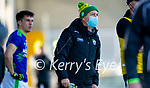 Kerry Manager Peter Keane during the Allianz Football League Division 1 Round 7 match between Kerry and Donegal at Austin Stack Park in Tralee on Saturday.