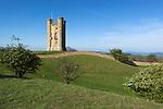 Grossbritannien, England, Worcestershire, Broadway: Broadway Tower aus dem 18. Jahrhundert | Great Britain, England, Worcestershire, Broadway: Broadway Tower, an 18th century folly