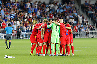 St. Paul, MN - Tuesday June 18, 2019: USMNT during a 2019 CONCACAF Gold Cup group D match between the United States and Guyana on June 18, 2019 at Allianz Field in Saint Paul, Minnesota.