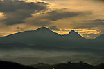 Part of the Virunga volcano chain in the northwest near the Uganda border.  Rwanda's highest peak,Mount Karisimbi, (14,787 ft).