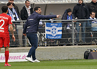 Trainer Dimitrios Grammozis (SV Darmstadt 98) - 07.03.2020: SV Darmstadt 98 vs. VfL Bochum, Stadion am Boellenfalltor, 2. Bundesliga<br /> <br /> DISCLAIMER: <br /> DFL regulations prohibit any use of photographs as image sequences and/or quasi-video.