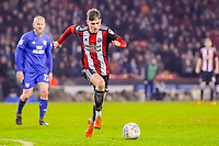 Sheffield United's midfielder David Brooks (36) during the Sky Bet Championship match between Sheff United and Cardiff City at Bramall Lane, Sheffield, England on 2 April 2018. Photo by Stephen Buckley / PRiME Media Images.