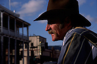 A cowboy in downtown Flagstaff, Arizona.<br />