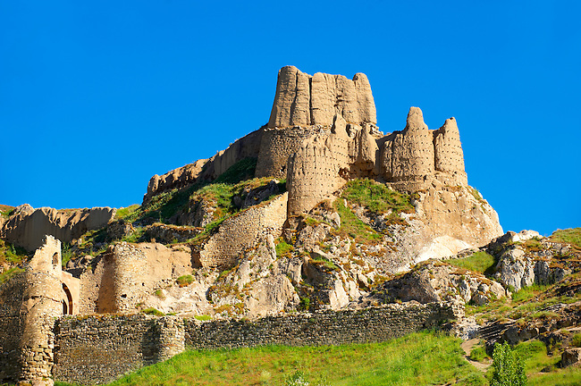 The ancient Uratian iron age fortress of Van, Van, Turkey 5