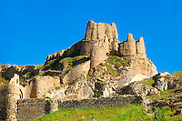 The ancient Uratian iron age fortress of Van, Van, Turkey 5