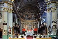 Kathedrale von Cervione in der Castagniccia, Korsika, Frankreich