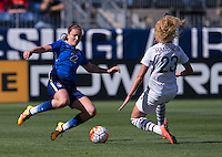 Nashville, TN - March 6, 2016: The USWNT defeated France 1-0 in the SheBelieves Cup at Nissan Stadium.