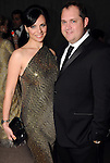 """Drew and Elena Sickinger at the Houston Museum of Natural Science's """"Slither to the Sound: A Prehistoric Party"""" Saturday March 02, 2013.(Dave Rossman/ For the Chronicle)"""
