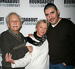 Alvin Epstein, Elizabeth Franz & Alfred Molina<br /> attending the Meet & Greet the cast of the Roundabout Theatre Company's HOWARD KATZ at their Rehearsal Hall in New York City.<br /> January 4, 2007