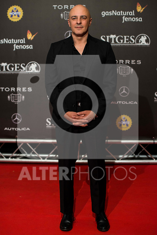 "Roberto Alamo during the red carpet of the presentation of the film ""Que Dios Nos Perdone"" at Festival de Cine Fantastico de Sitges in Barcelona. October 14, Spain. 2016. (ALTERPHOTOS/BorjaB.Hojas)"