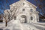 The New Salem, Massachusetts Town Hall
