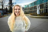 AHAINA Student of Excelllence, Legal Studies Senior Amanda Magnusen.