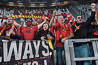 Supporters of Belgium during the Uefa Nations League semi-final football match between Belgium and France at Juventus stadium in Torino (Italy), October 7th, 2021. Photo Andrea Staccioli / Insidefoto