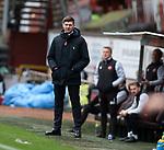 13.12.2020 Dundee Utd v Rangers: Rangersa manager Steven Gerrard