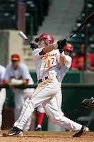 March 7 2010: Matt Float of USC during game against University of New Mexico at Dedeaux Field in Los Angeles,CA.  Photo by Larry Goren/Four Seam Images