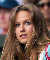 27-6-09, England, London, Wimbledon, Girlfriend of Andy Murray, Kim Sears