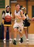 Manogue's Christa Young competes against Galena at Manogue High School in Reno, Nev., on Tuesday, Feb. 11, 2014. Manogue won 51-29.<br /> Photo by Cathleen Allison