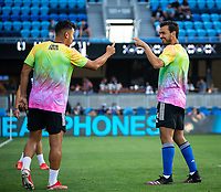 SAN JOSE, CA - AUGUST 17: Oswaldo Alanis before a game between Minnesota United FC and San Jose Earthquakes at PayPal Park on August 17, 2021 in San Jose, California.
