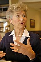 FILE PHOTO -  Mairesse Vera Danyluk en 2013<br /> <br /> PHOTO : Jacques Pharand - Agence Quebec Presse