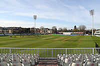 General view of the ground during Essex CCC vs Worcestershire CCC, LV Insurance County Championship Group 1 Cricket at The Cloudfm County Ground on 9th April 2021